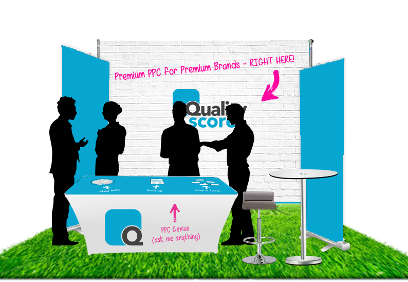conference booth mockup